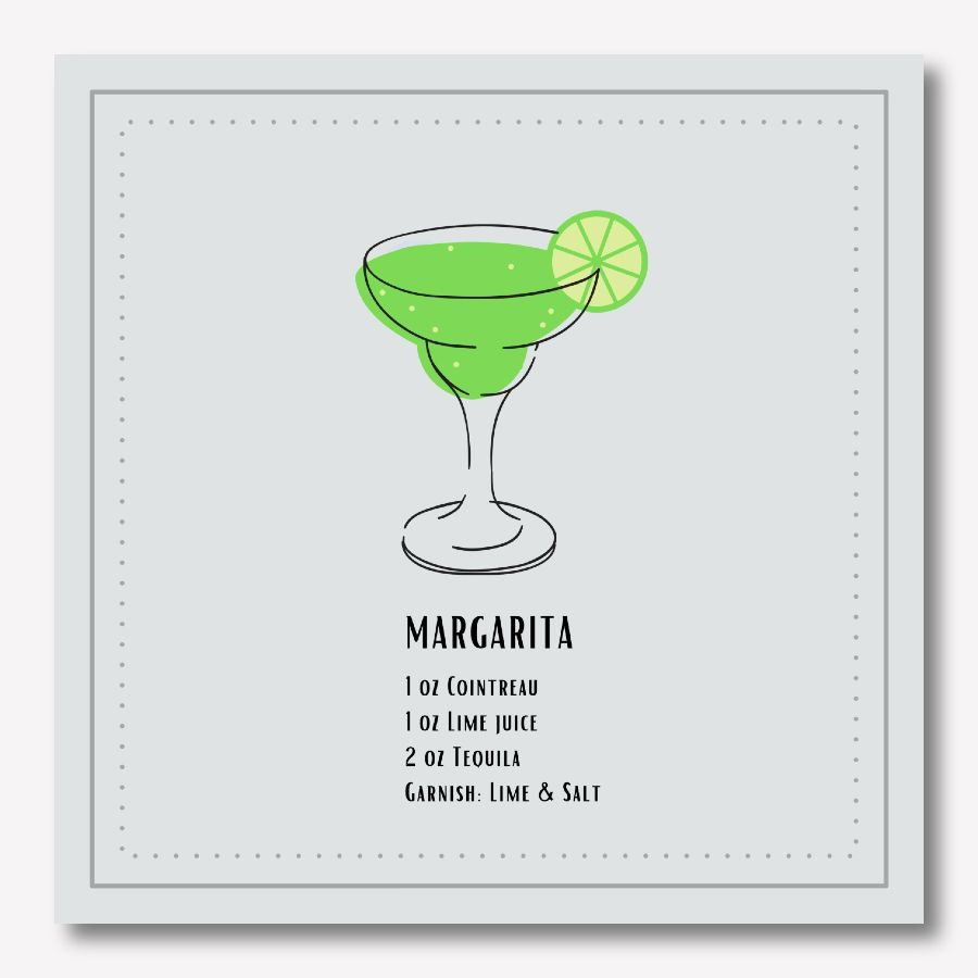 Margarita stylish Wall Art | FREE USA SHIPPING | www.wallArt.Biz