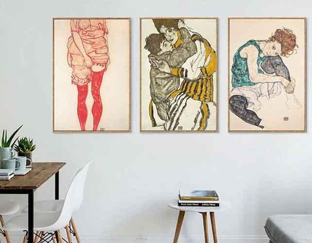 egon schiele canvas prints | free usa shipping | www.wallart.biz