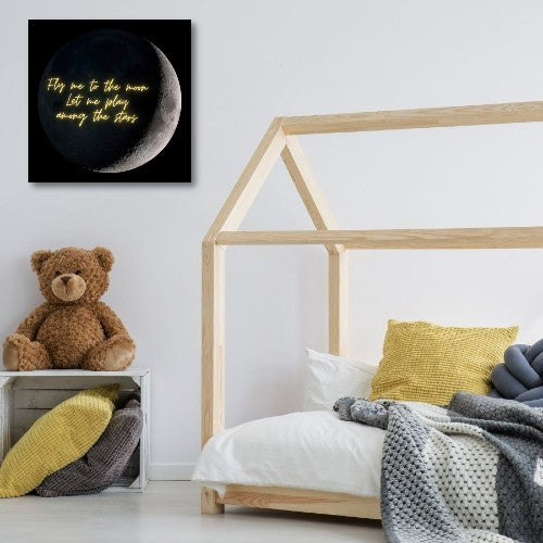 Fly me to the moon | Free USA Shipping - www.wallart.biz