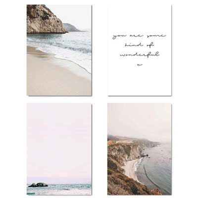 Coastal Gallery Wall Art Set | FREE USA SHIPPING | www.wallart.biz