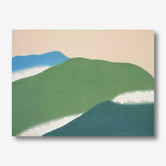 Green Mountains by Kamisaka Sekka | FREE USA SHIPPING | WallArt.Biz