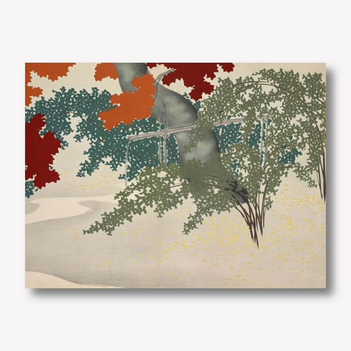 Maple by Kamisaka Sekka | FREE USA SHIPPING | WallArt.Biz