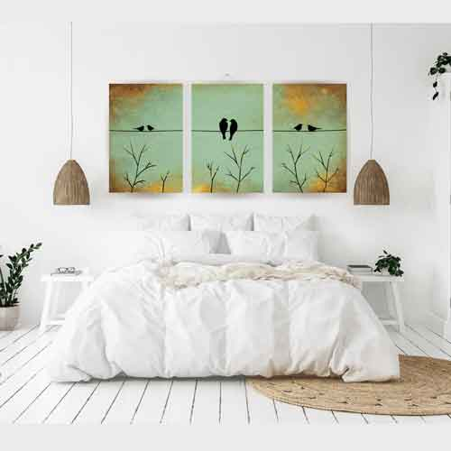 Bedroom wall art ideas - Quirky Wall Art - Free US Shipping - www.wallart.biz