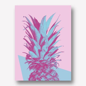 Pineapple Geometric | FREE USA SHIPPING | WWW.WALLART.BIZ