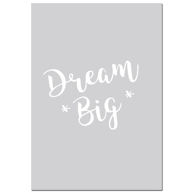 Kids Room Canvas Prints - 5 Piece Set