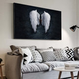 Beautiful Angel Wings Living Room Wall Art
