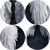 Angel Wings Wall Art Detail