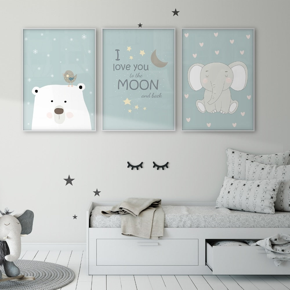 Nursery wall art - free usa shipping - www.wallart.biz