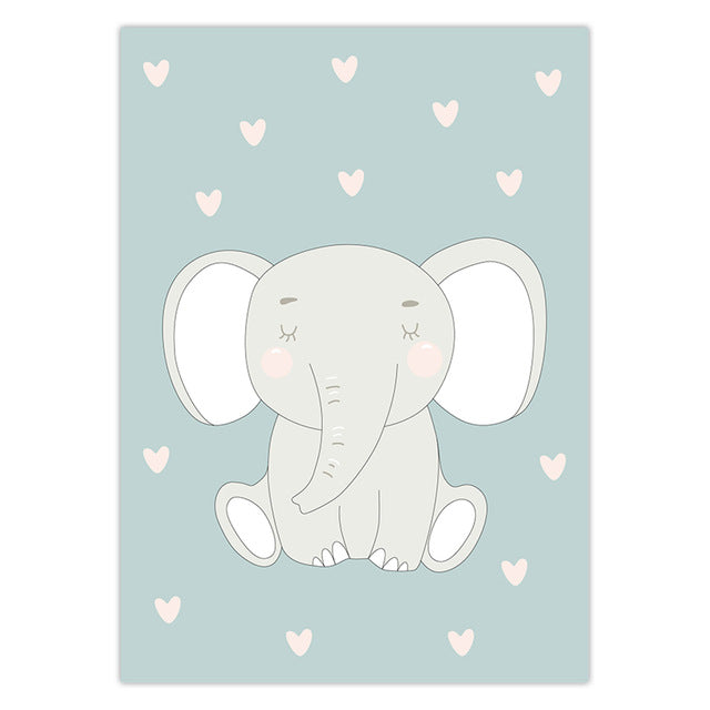 Elephant Nursery wall art | Free Shipping | www.wallart.biz