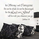bible quotes wall stickers