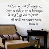 religious quote wall decor