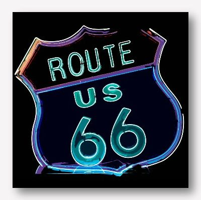 USA Road Signs - Route 66 |Free USA Shipping - www.wallart.biz