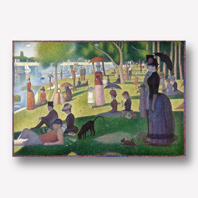 Georges Seurat - A Sunday on La Grande Jatte | Free USA Shipping | WallArt.Biz