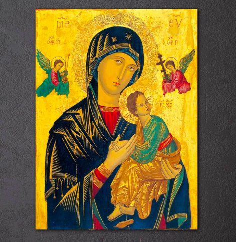 Virgin Mary Wall Art | Free US Shipping | www.wallart.biz