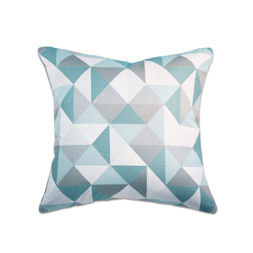"Pacifica Throw Pillow in Ruskin - 18"" x 18"""