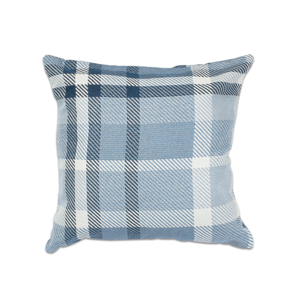 "Pacifica Throw Pillow in Tartan - 18"" x 18"""