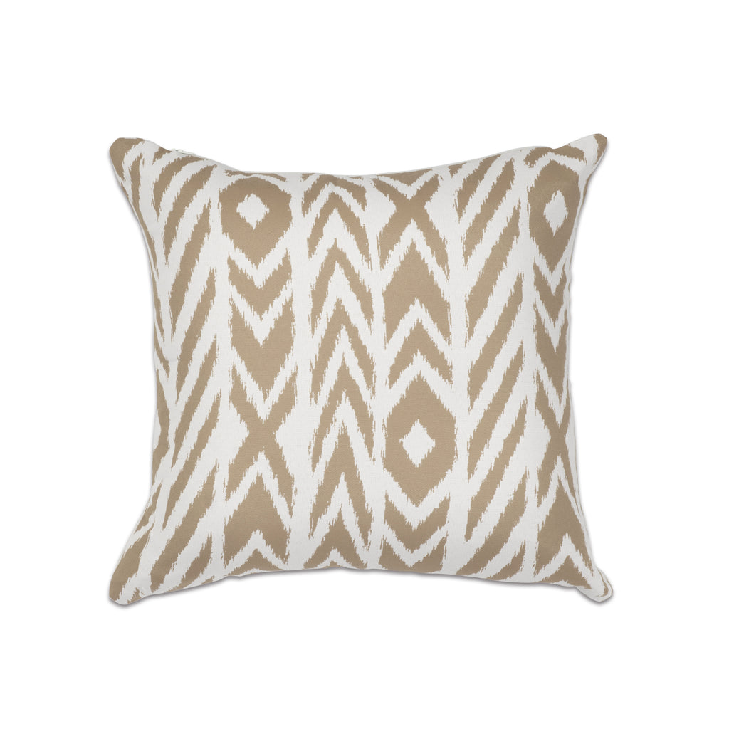 "Pacifica Throw Pillow in Fire Island - 18"" x 18"""