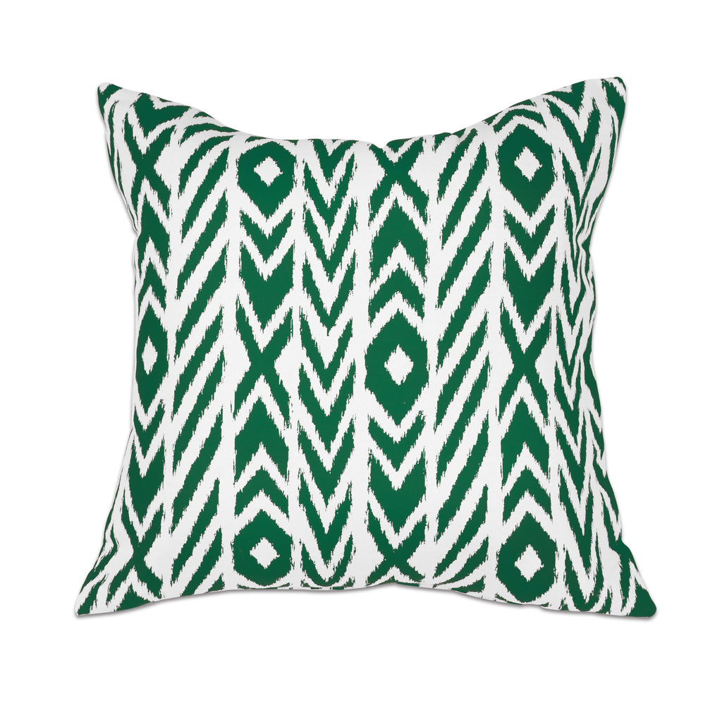 "Pacifica Throw Pillow in Fire Island - 24"" x 24"""