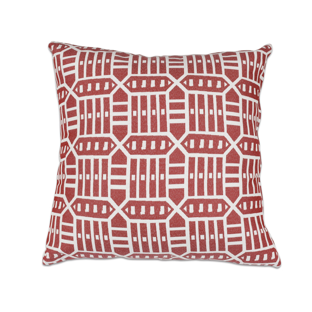 "Pacifica Throw Pillow in Roland - 24"" x 24"""