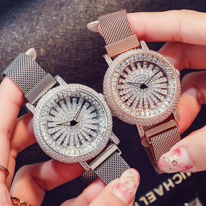 NEW ARRIVAL — LEONIDAS Gypsophila Diamond Waterproof Quartz Fashion Women Watch