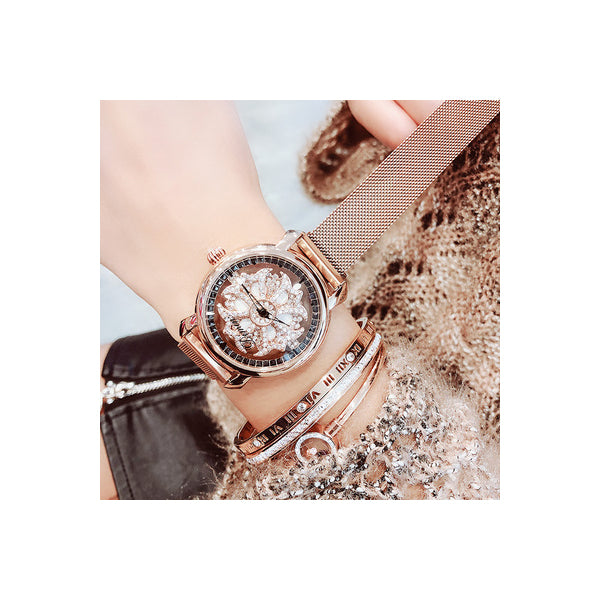 🔥2019 HOT SALE🔥Dimini Rotating Large Dial Fashion Quartz Women's Watch