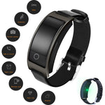 IP67 Waterproof Blood Pressure Oxygen Heart Rate Monitor Smart Bracelet --Suit with IOS & Android