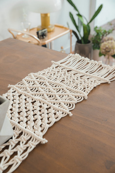 Macramé Table