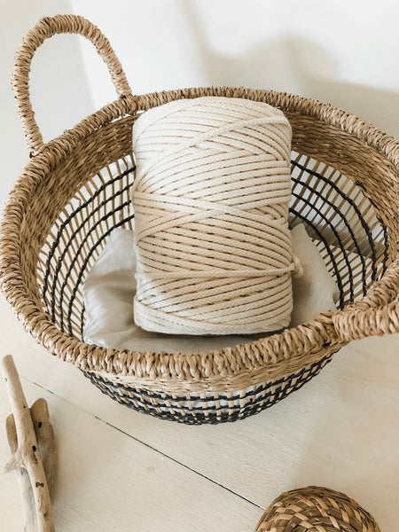 Macramé Cotton Shine Rope | 6 mm