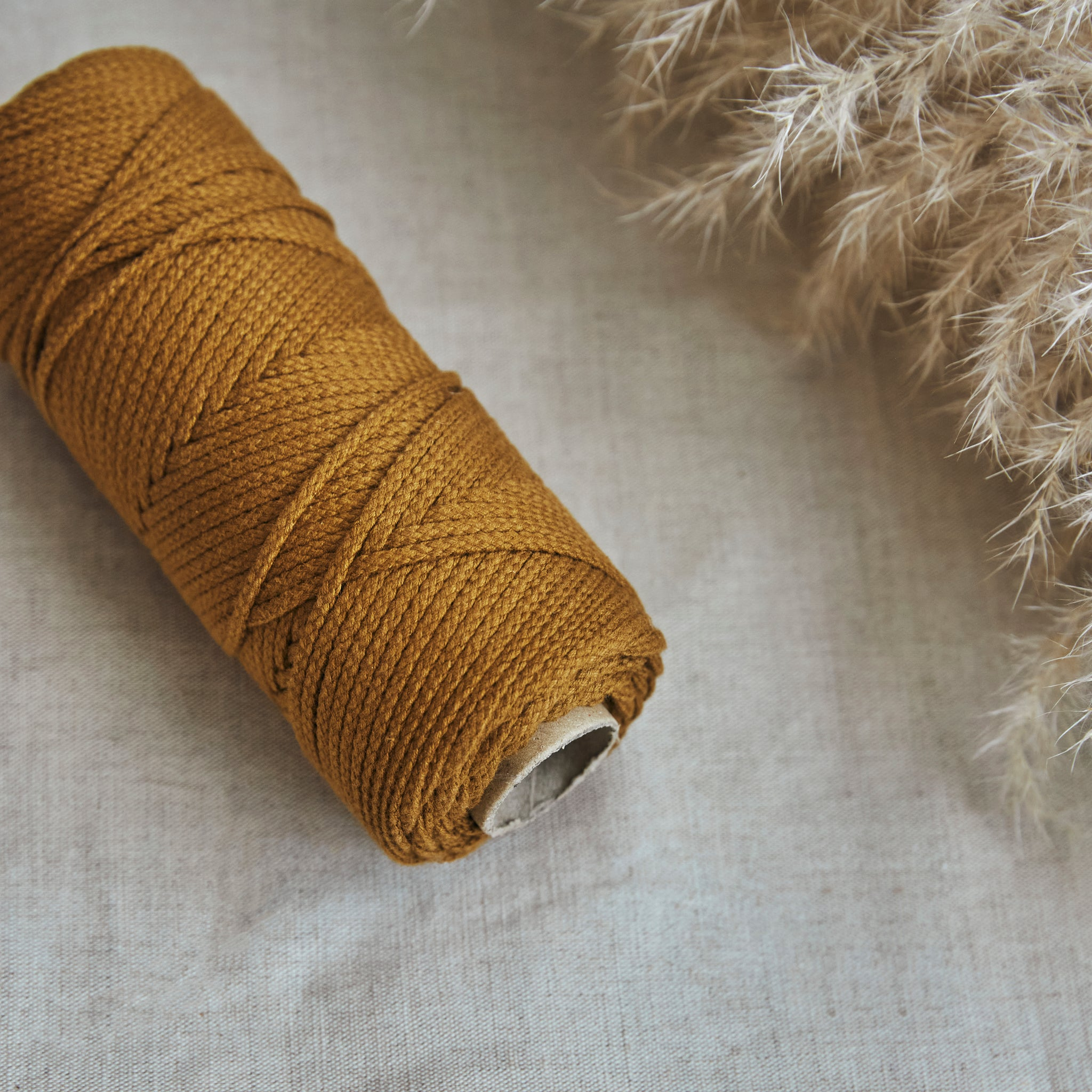 Macramé Cotton Caramel Rope | 3mm