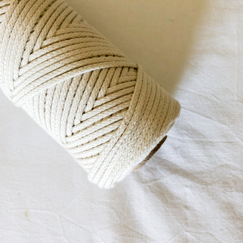 Macramé Cotton Shine Rope | 3 mm