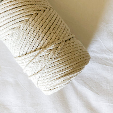 Macramé Cotton Shine Rope | 4 mm
