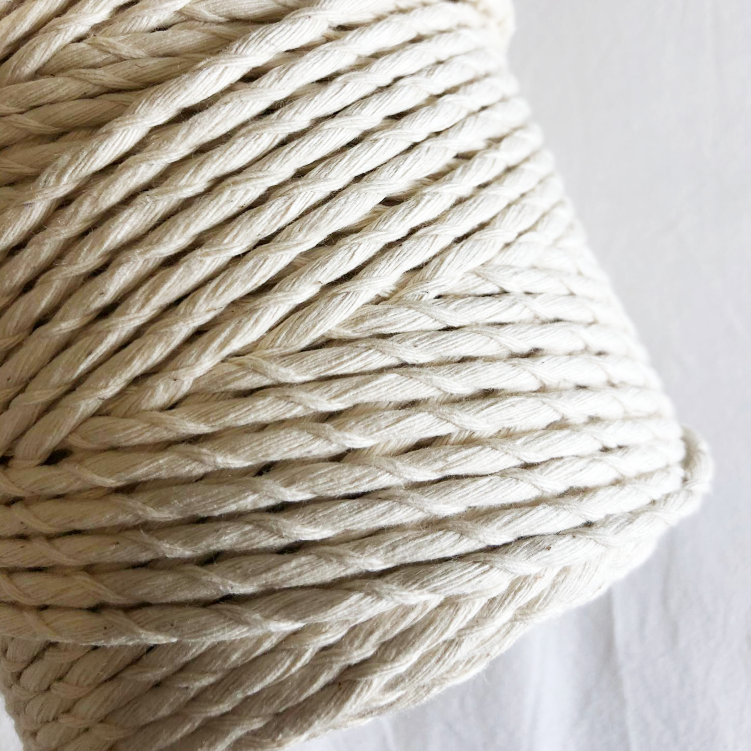 Macramé Cotton Wavy Rope | 6 mm