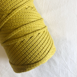 Macramé Cotton Mustard Rope | 6mm