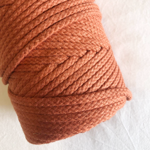 Macramé Cotton Terracotta Rope | 6mm