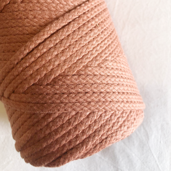 Macramé Cotton Coral Rope | 6mm
