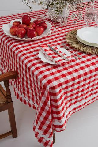 Binny First Day of Christmas Tablecloth Large