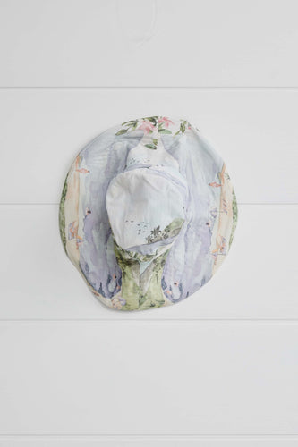 Binny Cockles Wide Brim Bucket Hat