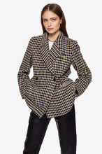 Load image into Gallery viewer, Anine Bing Kaia Blazer Houndstooth