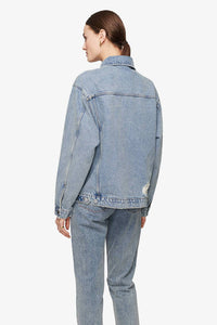 Anine Bing - Rory Denim Jacket in Vintage Blue