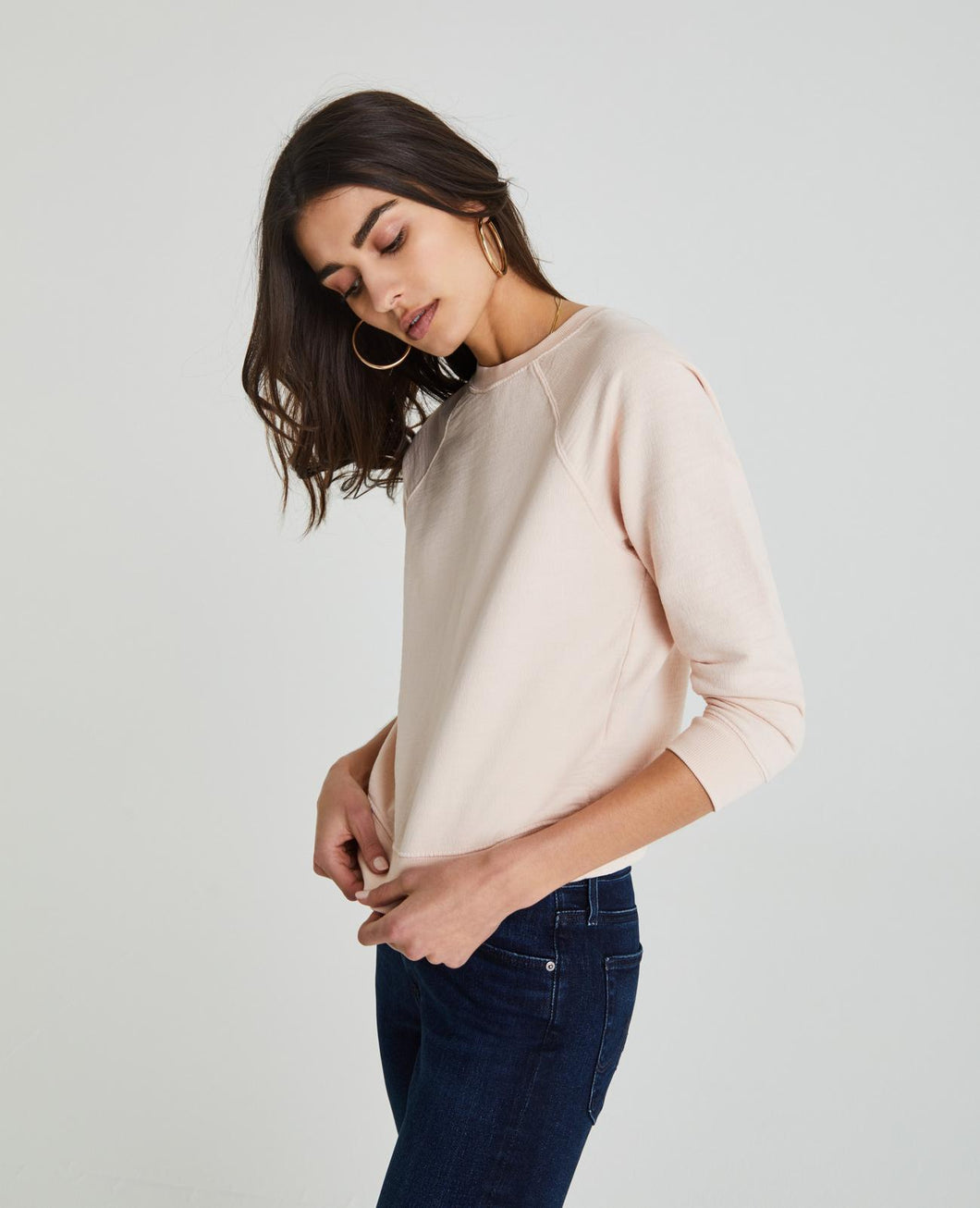 Jaydn Sweater in Light Shitake