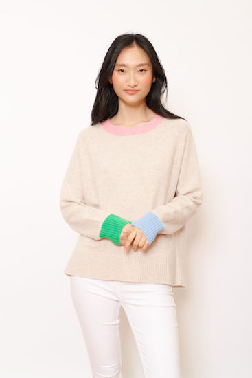 ALESSANDRA - Lumiere Sweater in Porridge