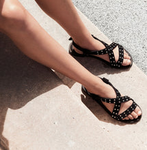 Load image into Gallery viewer, IvyLee Copenhagen Ricky Sandal Black