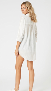 Mink pink cotton shirt