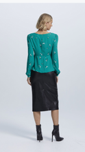 Load image into Gallery viewer, Staple The Label leather look midi skirt