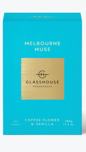 Melbourne muse glasshouse candle