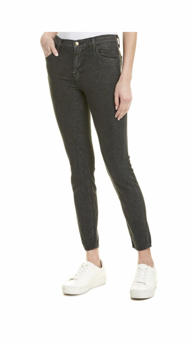 J Brand - Alana High Rise Skinny Crop in Faded Future