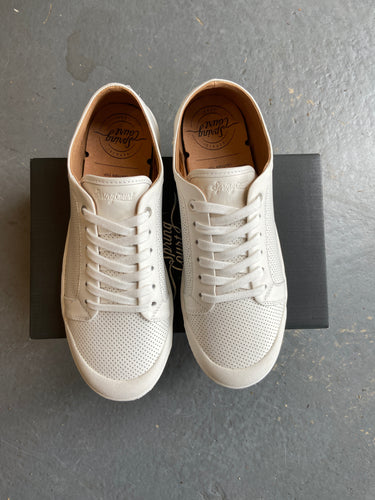 Springcourt G2 Punch Nappa Leather White sneakers
