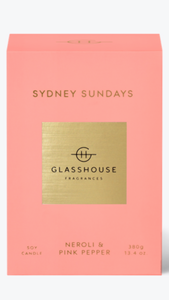 Sydney Sunday's glasshouse candle