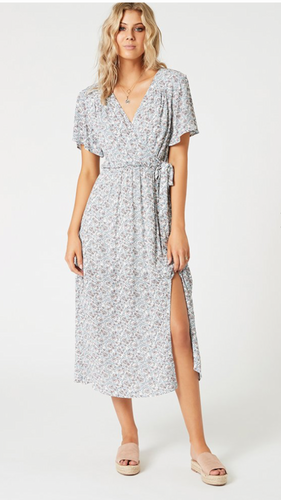 Mink Pink Love Crush Midi Dress