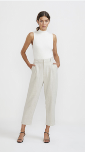Staple the label high waisted trouser